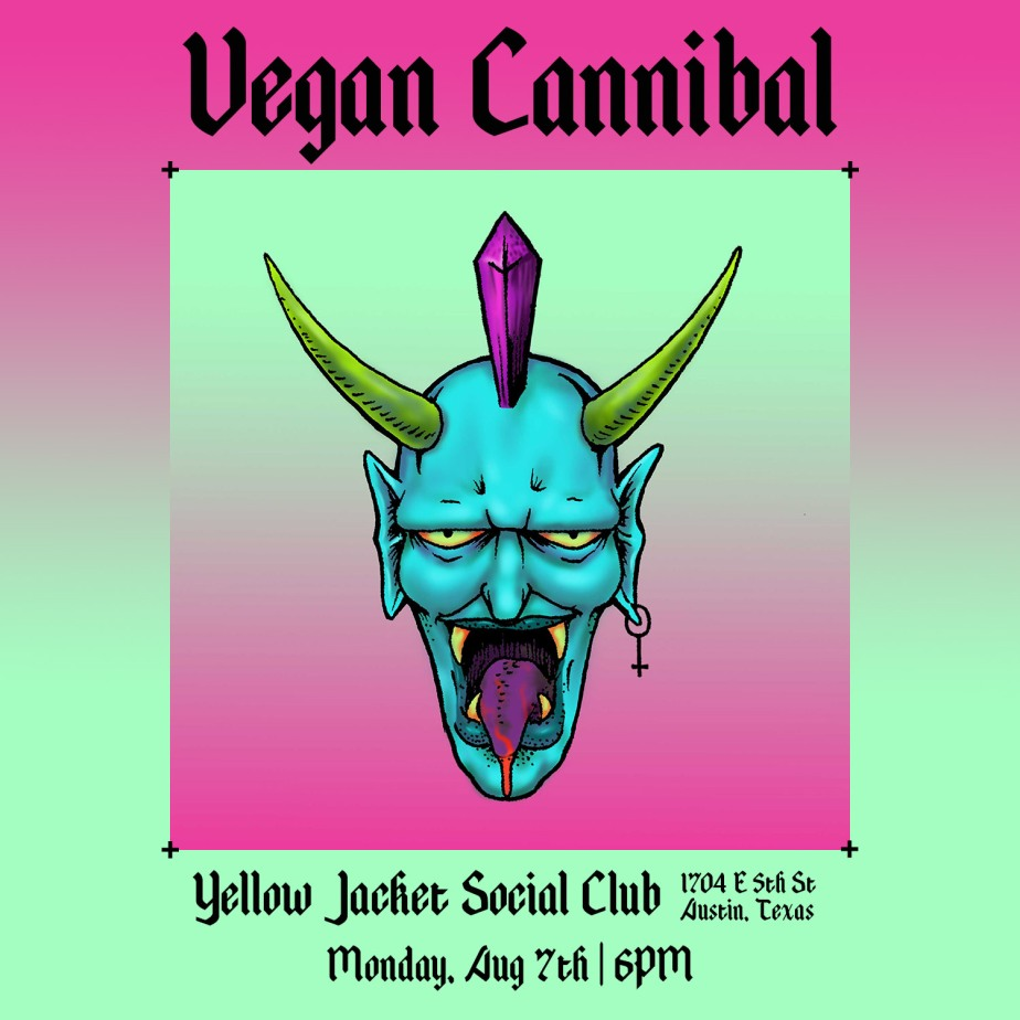Vegan Cannibal at YJSC!